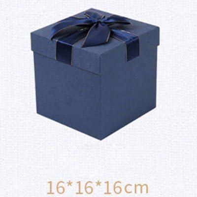 Mishuai - Caja de regalo cuadrada, caja de regalo para regalos ...