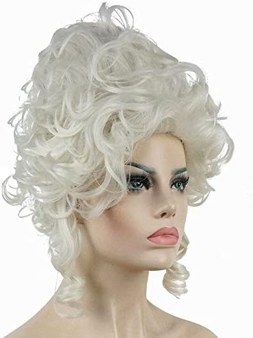 Wraith Of East 18th Century Baroque Marie Antoinette Wigs Ladies Adult Halloween Cosplay Accessories
