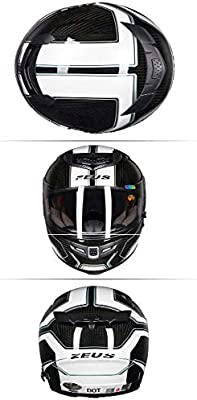 GJ Moto Casco,Antifogging Resistencia a la abrasión Deporte ...
