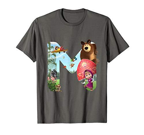Masha and the Bear T-shirt M (Masha And The Bear English Full Episodes)