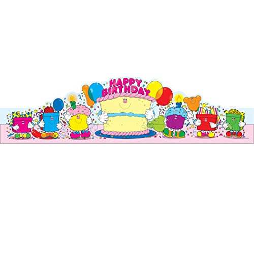 Carson-Dellosa CD-0232 Happy Birthday Crowns, Pack of 30 (Birthday Paper Hat)
