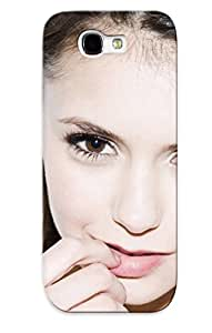 For Galaxy Case, High Quality Nina Dobrev For Galaxy Note 2 Cover Cases / Nice Case For Lovers' Gifts