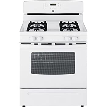 Amazon Com Kenmore 74032 5 0 Cu Ft Gas Range In White