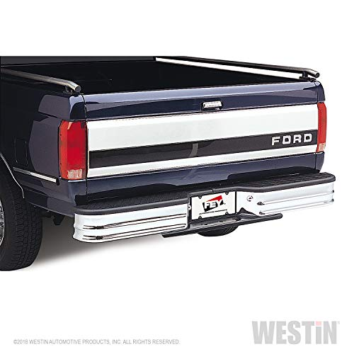 Fey 21007 SureStep Deluxe Universal Chrome Replacement Rear Bumper (Requires Fey vehicle specific mounting kit sold separately) ()