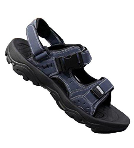 MengFan メンズ スポーツサンダル 厚底 夏 オープントゥ コンフォートサンダル 軽量 歩きやすい おしゃれ ビーチサンダル 滑り止め 疲れない 通勤 通学 オフィス アウトドア
