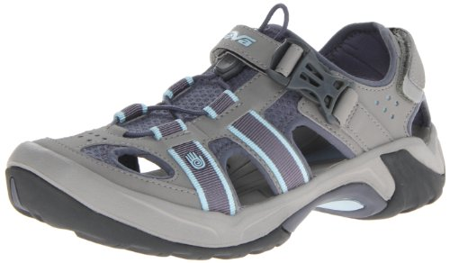 Shoes Water Teva (Teva Women's Omnium Sandal,Slate,8.5 W US)