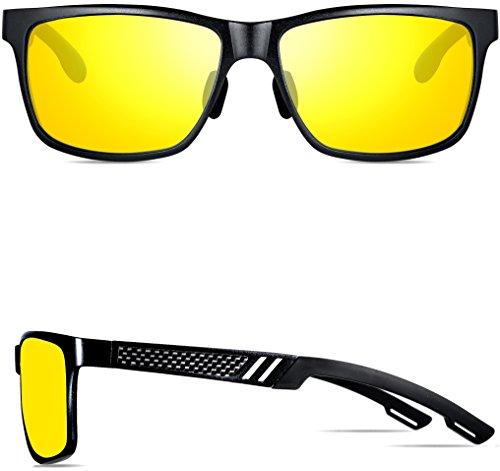 Chahua La tendance des lunettes de soleil pour hommes lunettes de mode cadre métallique film couleur personnalisé, un visage rond lunettes de c