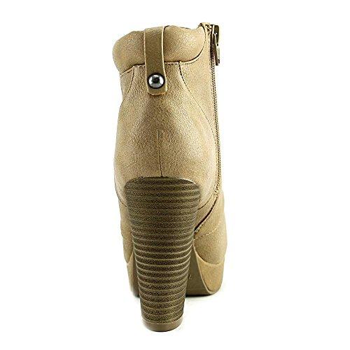 Matériel Fille Rheta Lacets Plate-forme Bottillons Chaussures Pour Femmes Tan Taille 7,5 M Us