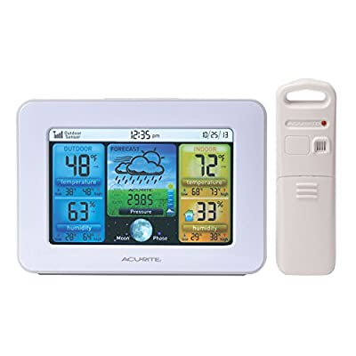 AcuRite 02027A1 Color Weather Station with Forecast/Temperature/Humidity by Acu-Rite