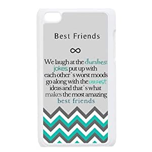 Design For You The Meaning For Best Friends IPOD TOUCH 4 Durable Cover Case