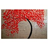 Santin Art – Modern Abstract Ready to Hang Stretched Canvas Oil Painting Picture