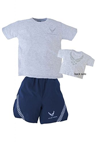 New Trooper Children's Air Force PT Uniform T-Shirt and Shorts Set (Small)