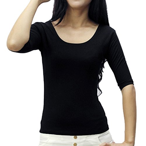 IFUNLE Womens Sleeve Stretchy T shirt product image