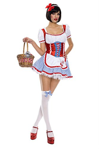 Rave Wonderland Women's Darling Dorothy Oz Extra Large -