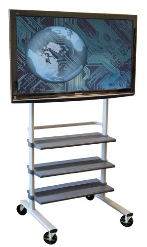 H. Wilson Versatile LCD/Flat Mobile Panel Stand (Stand Lcd Sliding Brackets)