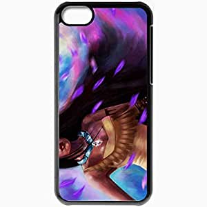 diy phone casePersonalized iphone 5/5s Cell phone Case/Cover Skin Pocahontas Cartoon Girl Blackdiy phone case