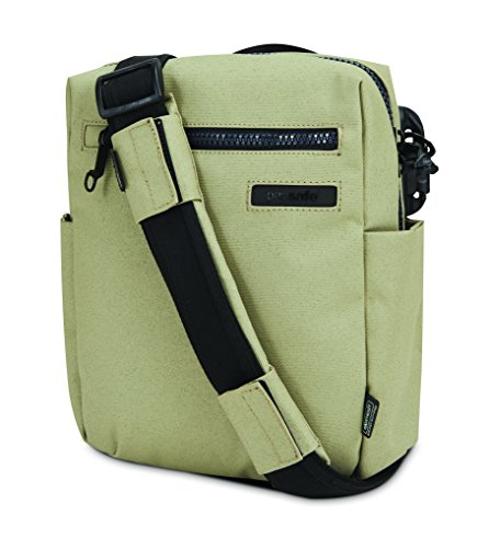 - Pacsafe Intasafe Z200 Anti-Theft Compact Travel Bag, Slate Green
