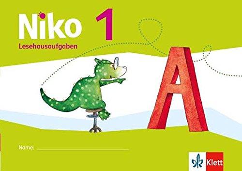 Niko / Lesehausaufgaben 1. Schuljahr Broschüre – 1. April 2016 Klett 3123105490 Schulbücher Deutsch