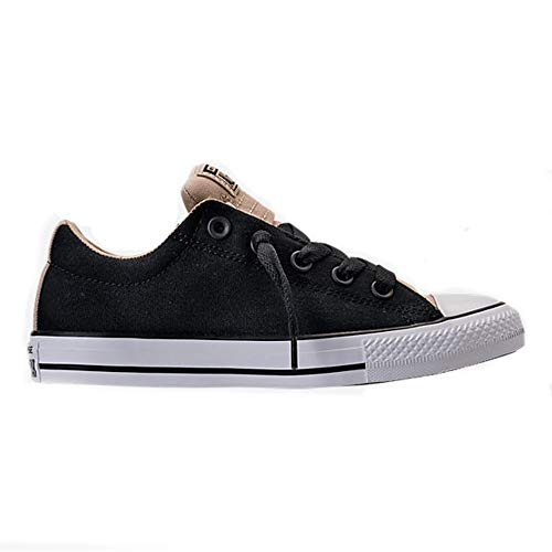 Converse Chuck Taylor All Star Street Slip Fashion Sneakers Black/Vintage Khaki Size 2.5 Little Kid