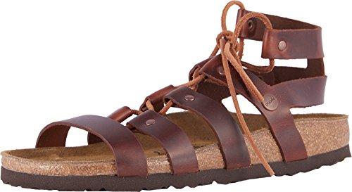 - Birkenstock New Papillio Women's Cleo Sandal Cognac 36 N