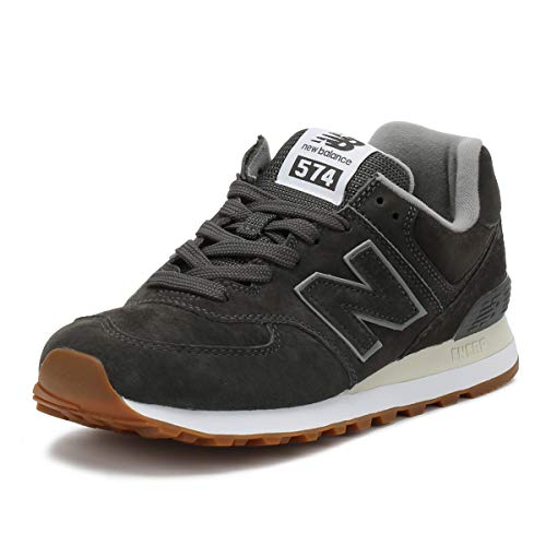 New Balance Herren Ml574E Sneaker, anthrazit