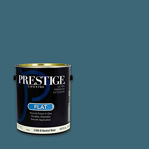 Prestige, Greens and Aquas 6 of 9, Exterior Paint and Primer In One, 1-Gallon, Flat, Music Note