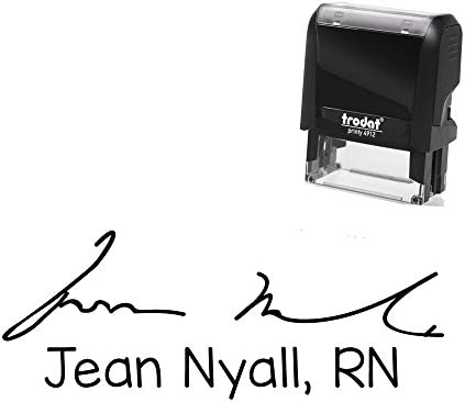 Self Inking Signature Department Message Stamper