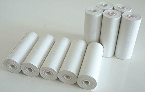 25 Coreless Thermal Paper Rolls for Poynt Smart Payment Terminal Receipt Printer - 2.25