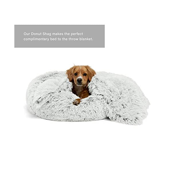 Best Friends by Sheri The Original Calming Shag Vegan Fur Donut Cuddler (Multiple Sizes) 4