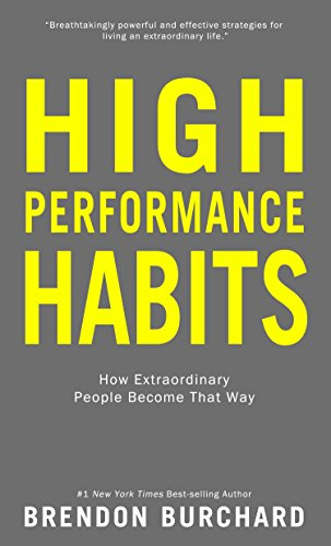 book cover of High-Performance Habits