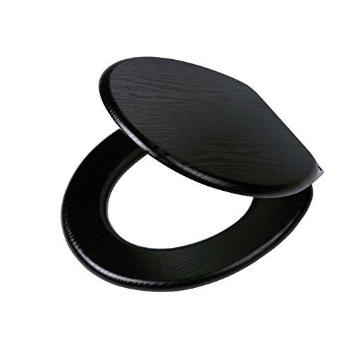Terrific Amazon Com Tiger 252030746 Blackwash Toilet Seat In Wood Spiritservingveterans Wood Chair Design Ideas Spiritservingveteransorg