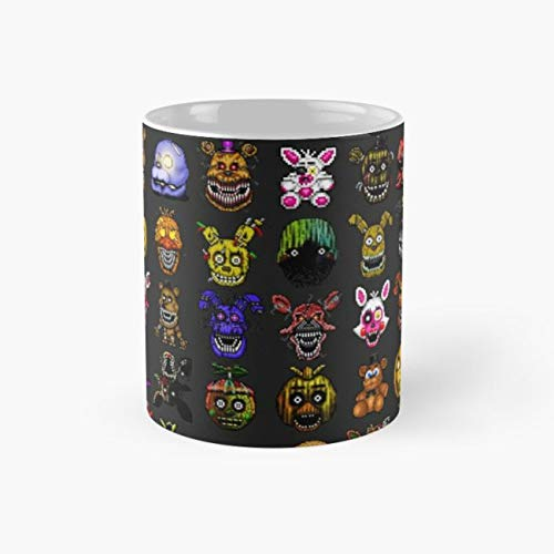 Golden Halloween 110Z Coffee Mugs]()