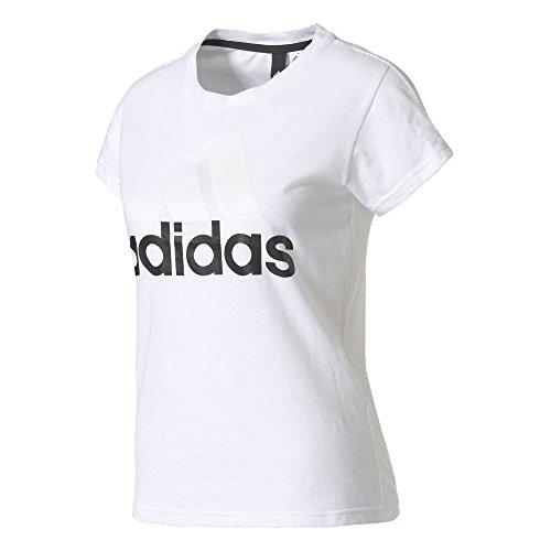 adidas Womens Essentials Linear Slim Tshirt Easy at Amazon Womens Clothing store:
