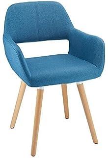 Oslo Fabric Dining Chair Blue