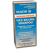 Product review for MAJOR LICE KILLING M/S SHAMPOO PIPERONYL BUTOXIDE TECHNICAL-4% Yellow 118 ML UPC 309042528207