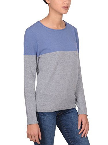 Cappellini Mujer M99476F12A71 Azul Claro/Gris Lana Jersey