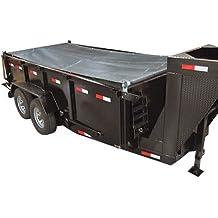 TruckStar Mesh Dump Tarp Roller Kit - For 12ft. Dump Trailers, 6 1/2ft. x 15ft., Model# DTR6515