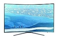Samsung UE55KU6509UXZG 139,7 cm (55 Zoll) Curved Fernseher (Ultra HD, Triple...