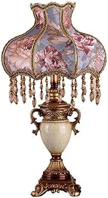 WFTD De Estilo Victoriano Lámpara de Mesa, 13 Pulgadas patrón de ...