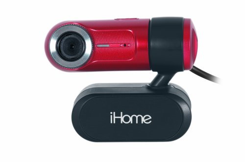 iHome MyLife Notebook Webcam - Red (IH-W313NR)