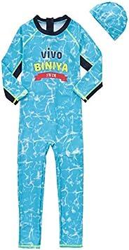 Vivobiniya Kid Girl Swimsuits Girl Two-Piece Swimsuits UPF50+ 2-10Y