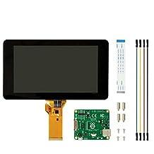 "2016 Newest Raspberry Pi 3 Display 7"" Touch Screen Display LCD TFT 10 Finger Touch Screen Support Raspberry Pi 3B/2B/B+"