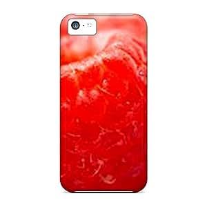 New Tpu Hard Case Premium Iphone 5c Skin Case Cover(raseberry907)