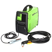 Forney 317 115FI Plasma Cutter with Built-In Compressor, 120-volt, Green