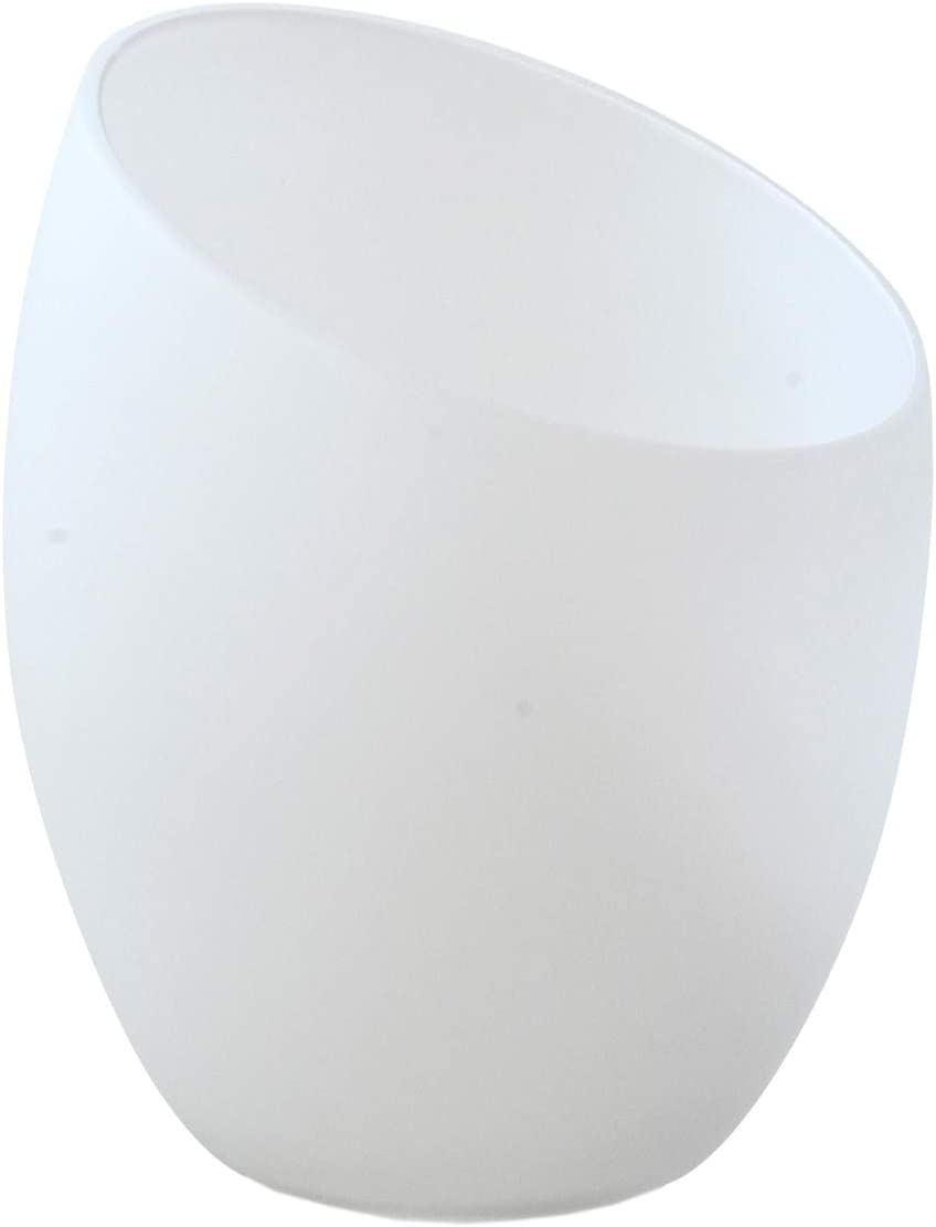 Modern Frosted Glass Shade Replacement For Floor Lamps Table