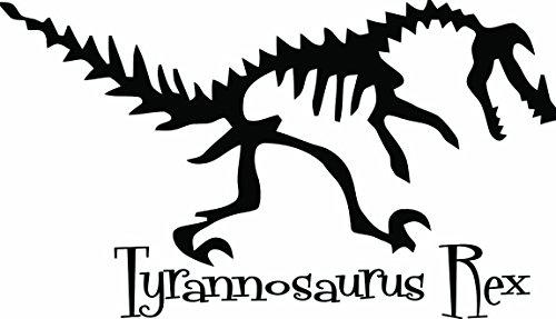 Tyrannosaurus Rex Dinosaur (ONLY INCLUDES ONE DINOSAUR) Wall Vinyl Decal Quote Art Saying Sticker