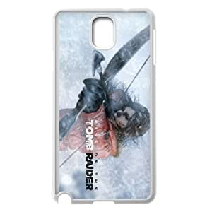 games Rise of the Tomb Raider Game Poster Samsung Galaxy Note 3 Cell Phone Case White Present pp001-9472931