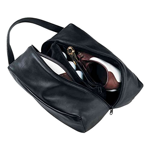 Royce Leather Unisex Cowhide Lined Deluxe Shoe Bag