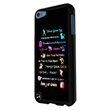 456 - Cartoon All in one Never Grow up Lion hakuna matata Ohana Stitch Design For apple ipod Touch 5 Fashion Trend CASE Back COVER Plastic&Thin Metal