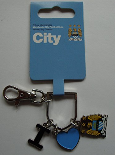 Manchester City Neuheit Tasche Charm I Love City